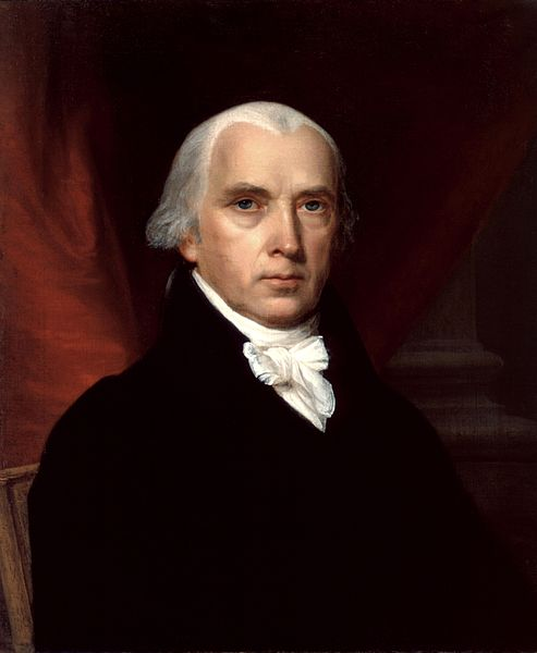 U.S. President James Madison